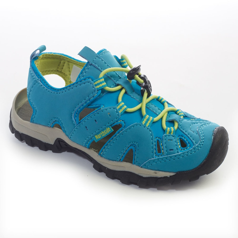NORTHSIDE Girls' Burke II Sandals - BLUE/LIME