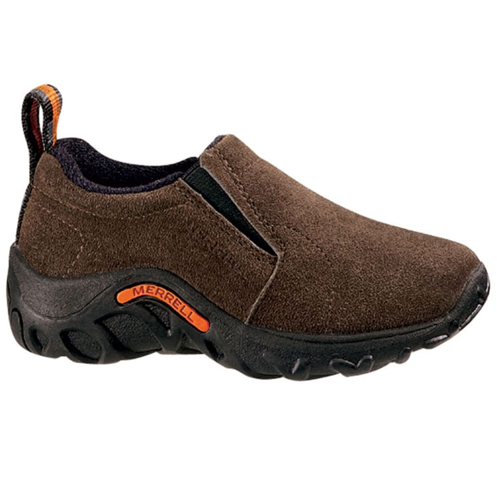 MERRELL Kids' Jungle Moc Shoes, Gunsmoke - GUNSMOKE