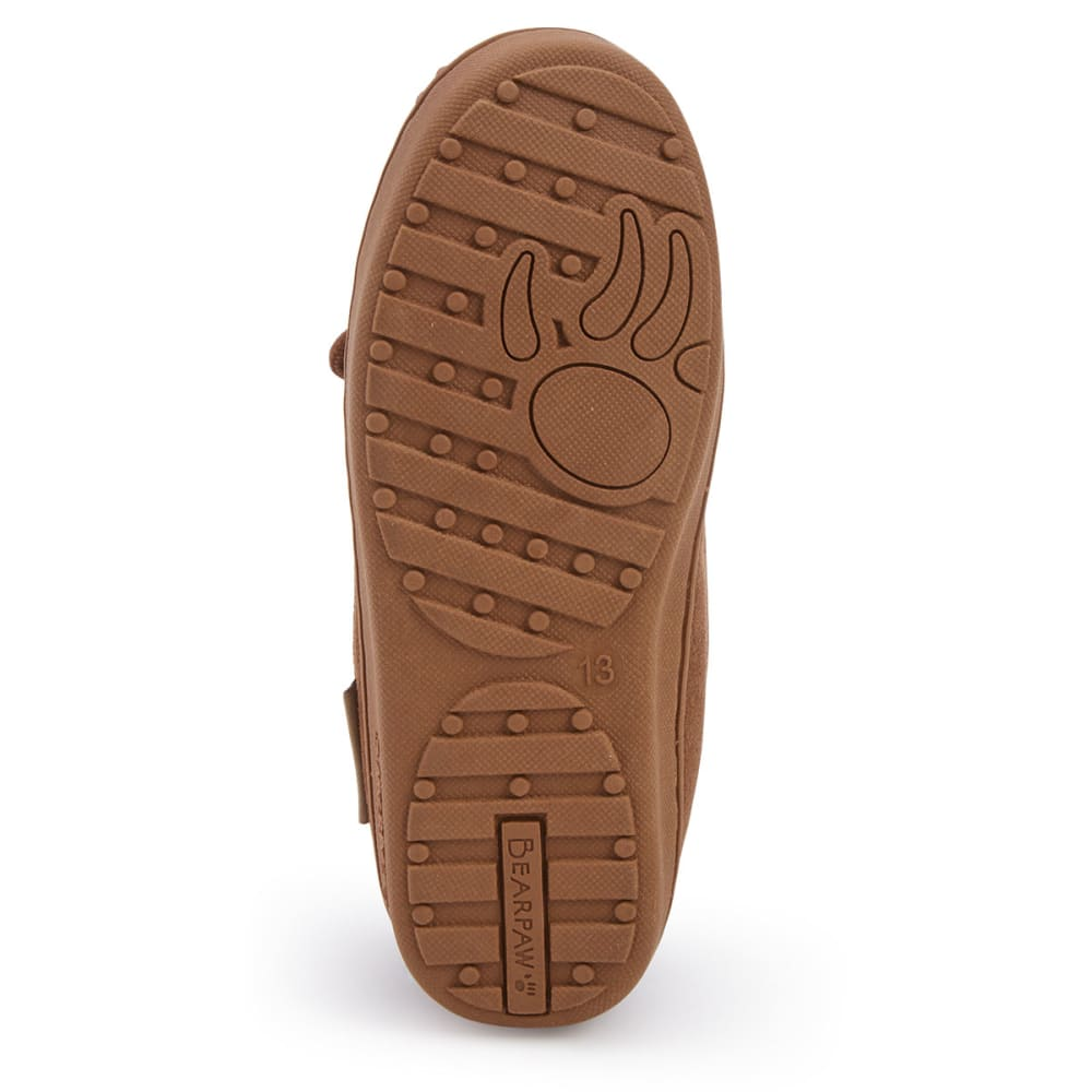 BEARPAW Kids' Moc Slippers - HICKORY