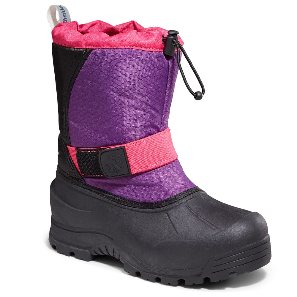 NORTHSIDE Girls' Zephyr Waterproof Boots - purple fuchsia