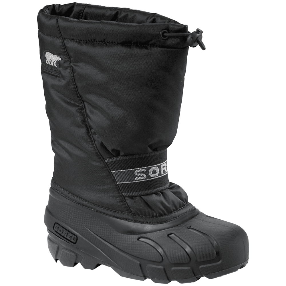 SOREL Kids' Cub Winter Boots - TODDLER - BLACK