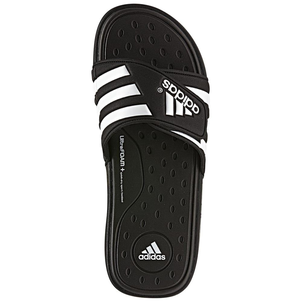 online store 91769 685ae ... ADIDAS Men  39 s Adissage SUPERCLOUD Slides - BLACK WHITE   G19102
