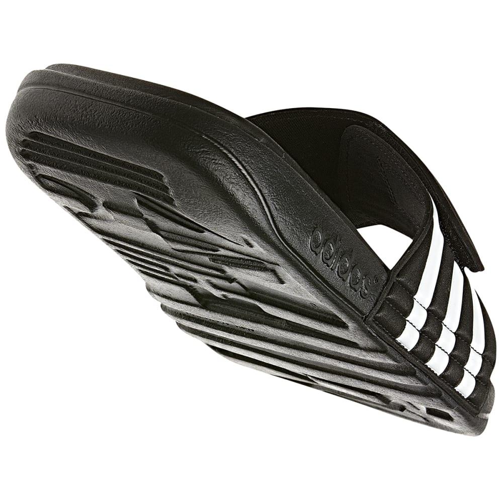 e53ee920129f ADIDAS Men  39 s Adissage SUPERCLOUD Slides - BLACK WHITE   G19102