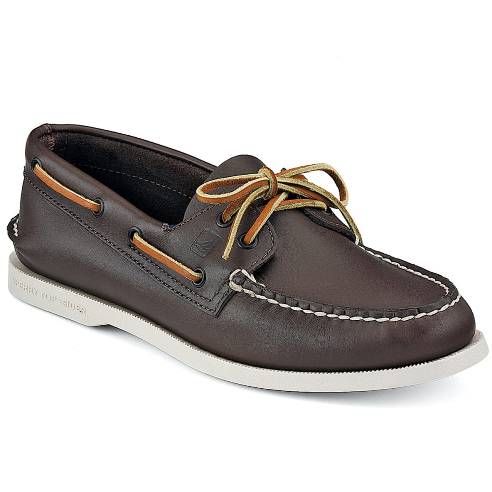 SPERRY Men's Authentic Original 2-Eye Boat Shoes - BROWN