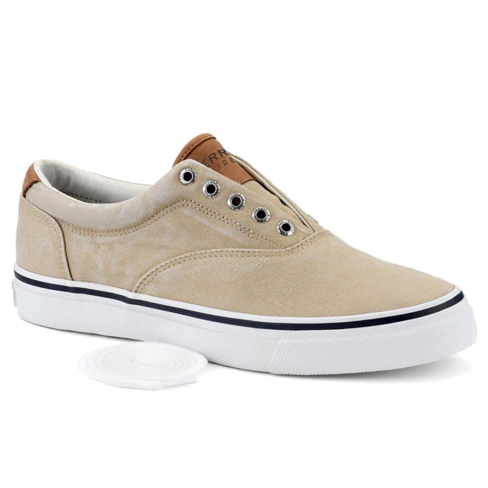 SPERRY Men's Striper CVO Salt Washed Twill Sneakers 8