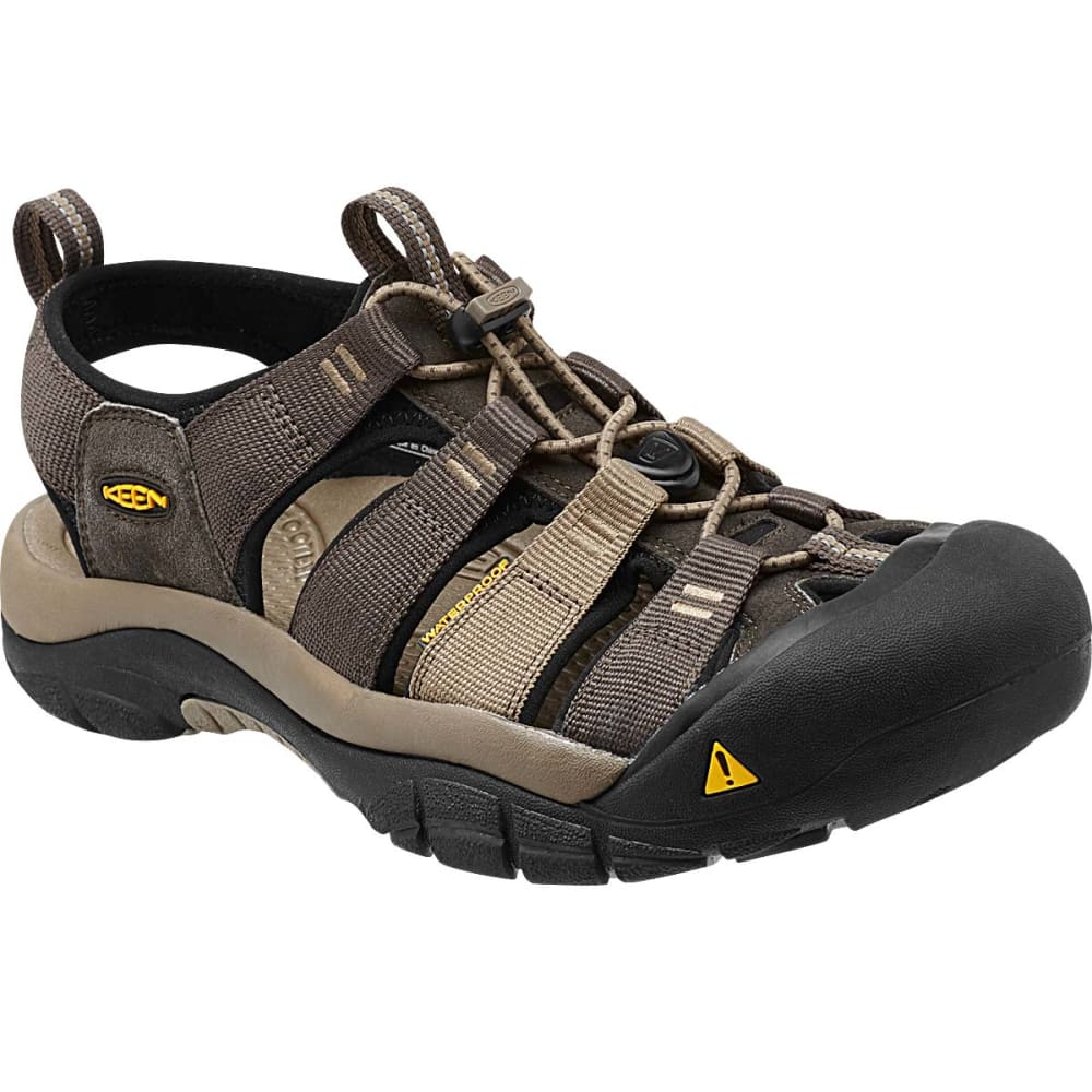 KEEN Men's Newport H2 Sandals, Black Olive - BLACK OLIVE