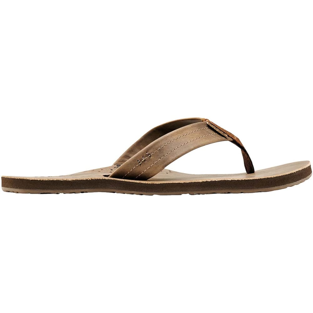 REEF Men's Draftsmen Flip-Flops, Bronze Brown - BRONZE