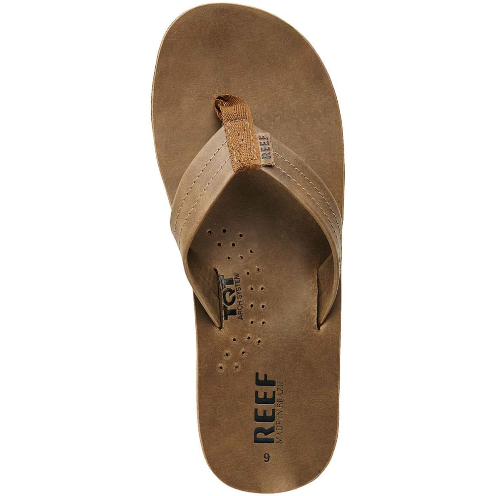 f872ae6eb6b8d REEF Men's Draftsmen Flip-Flops, Bronze Brown - BRONZE