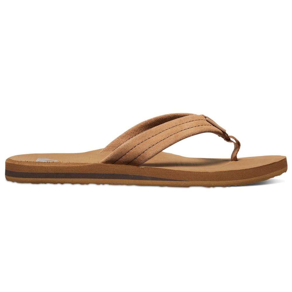 QUIKSILVER Men's Carver Suede Sandals - TAN/AQYL100030 TKDO