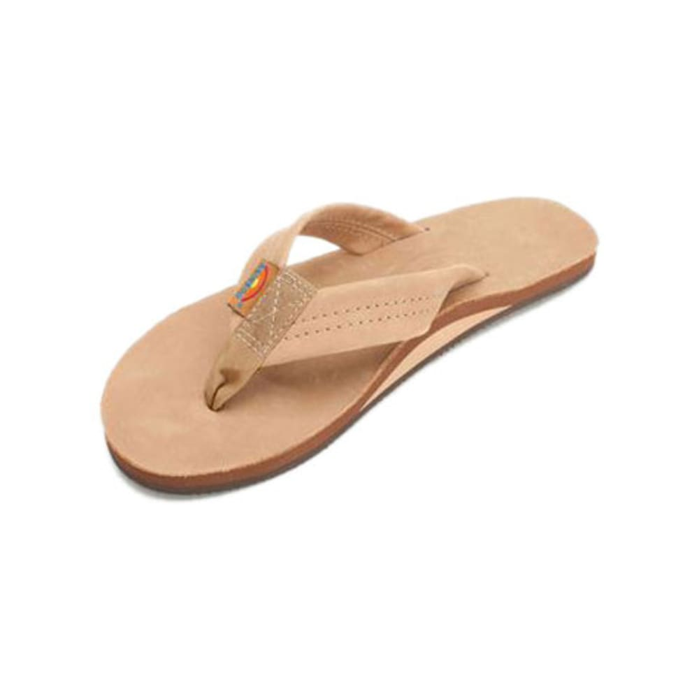 RAINBOW Men's Premier Leather Flip-Flops - KHAKI/OYSTER