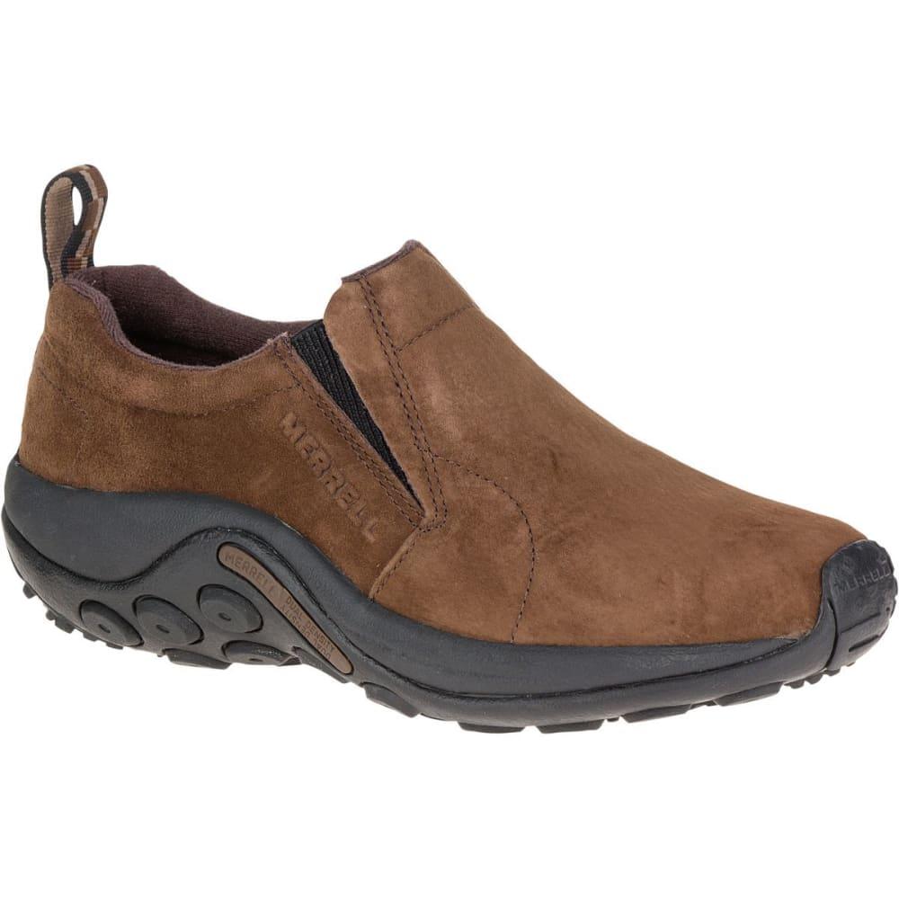 MERRELL Men's Jungle Moc Shoes, Dark Earth - DARK EARTH