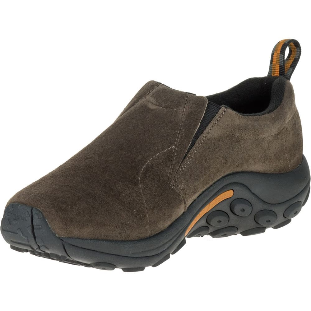 MERRELL Men's Jungle Moc Shoes, Wide - GUNSMOKE