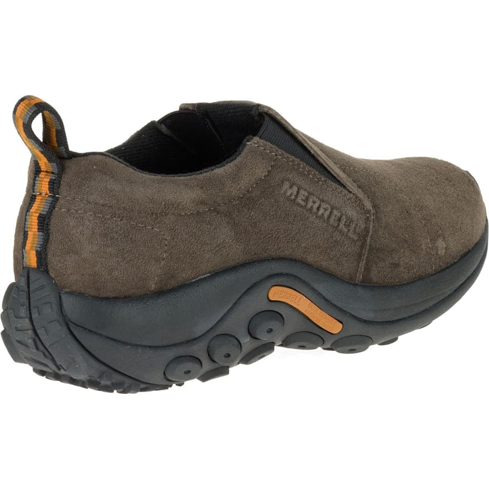 MERRELL Men's Jungle Moc Shoes, Wide - GUNSMOKE