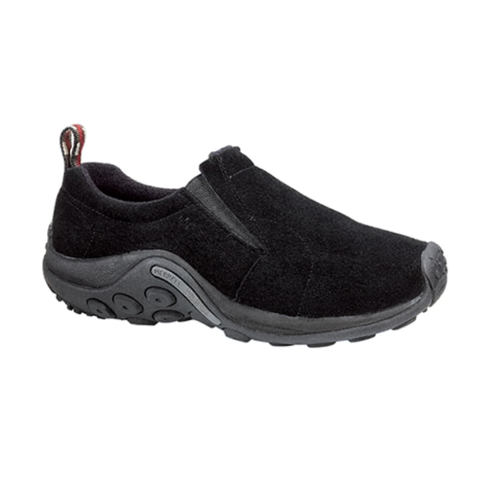 MERRELL Men's Jungle Moc Shoes, Midnight, Wide - BLACK