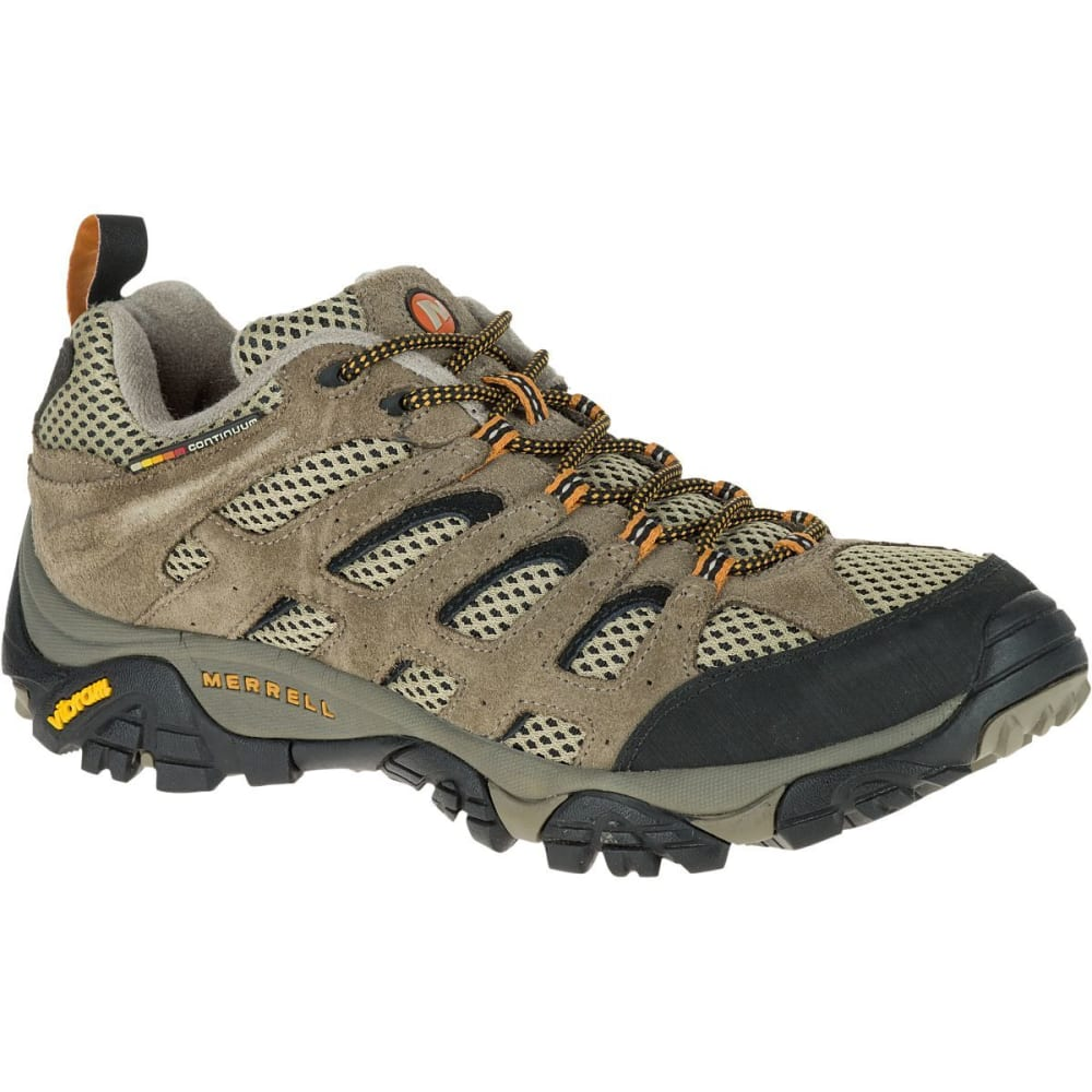 MERRELL Men's Moab Ventilator Hiking Shoes, Walnut - WALNUT