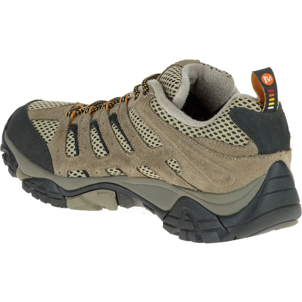 MERRELL Men's Moab Ventilator Hiking Shoes, Walnut, Wide