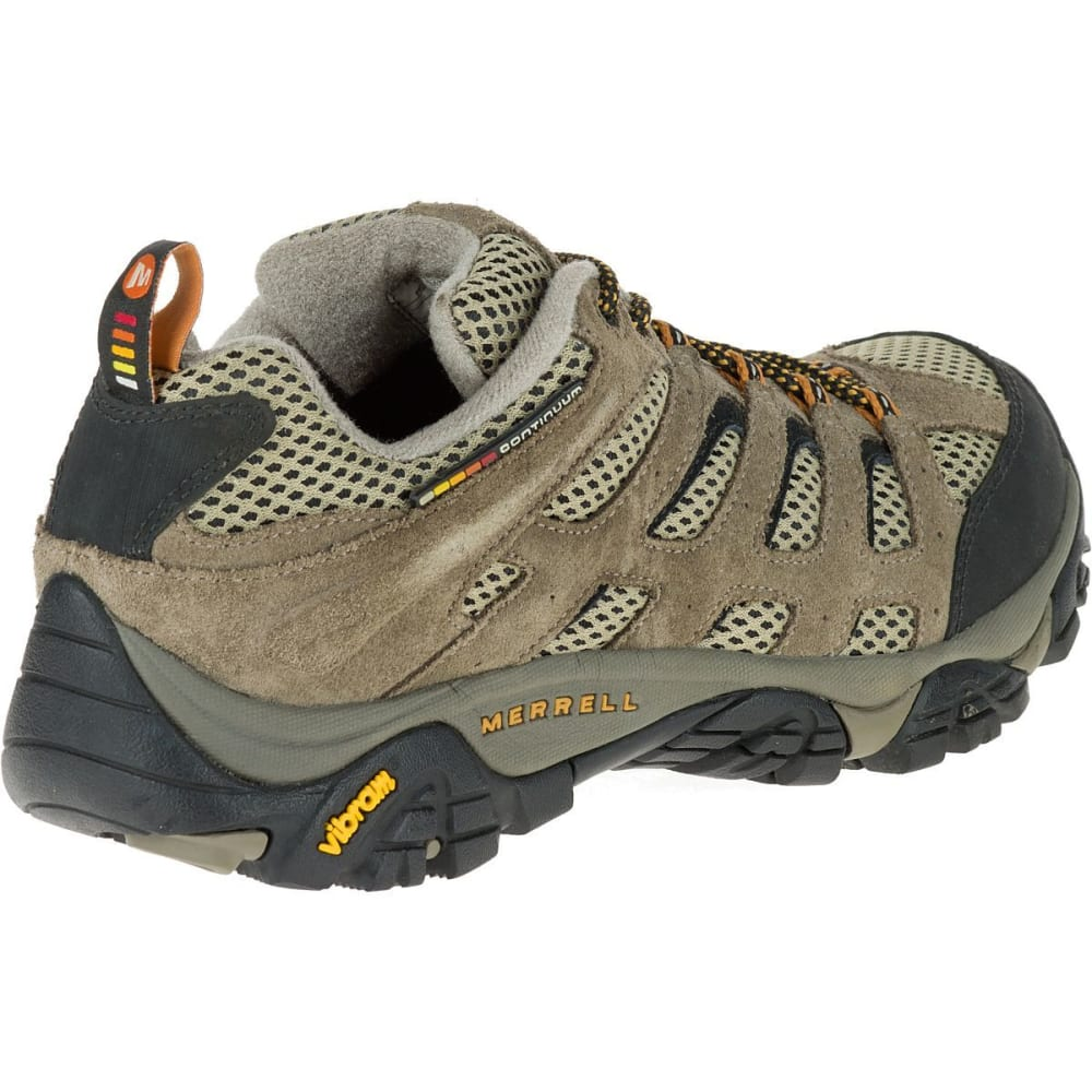 MERRELL Men's Moab Ventilator Hiking Shoes, Walnut, Wide - WALNUT