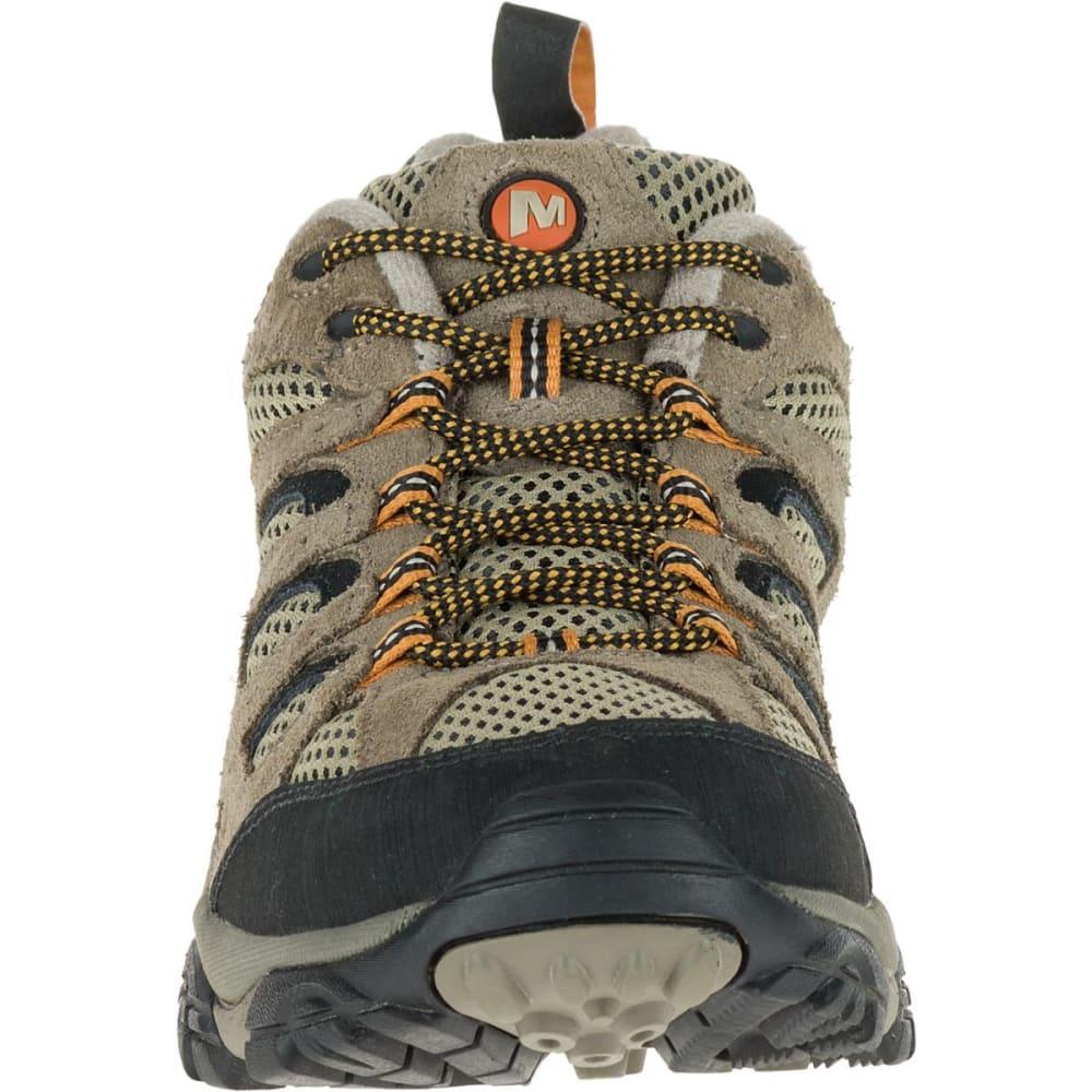 MERRELL Men's Moab Ventilator Hiking Shoes, Walnut, Wide - WALNUT