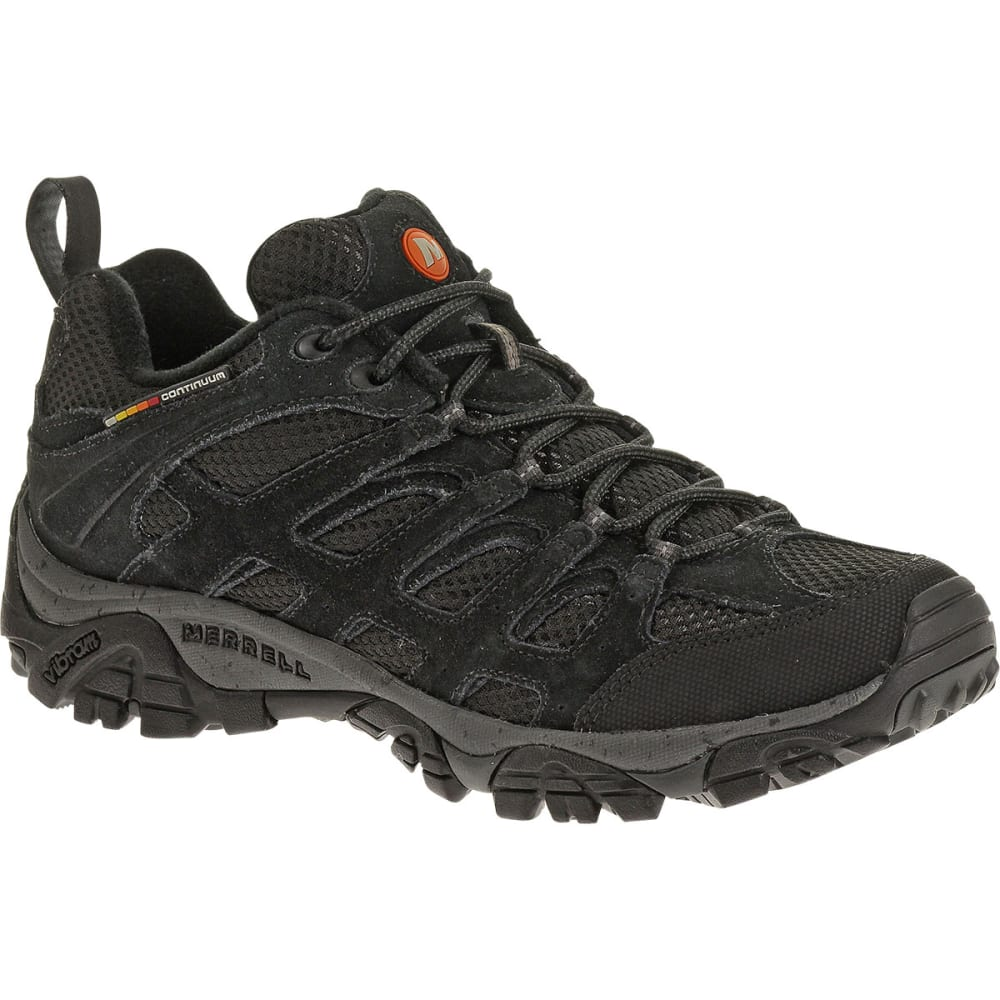 Merrell Men's Moab Ventilator Hiking Shoes, Black Night - Black J39181