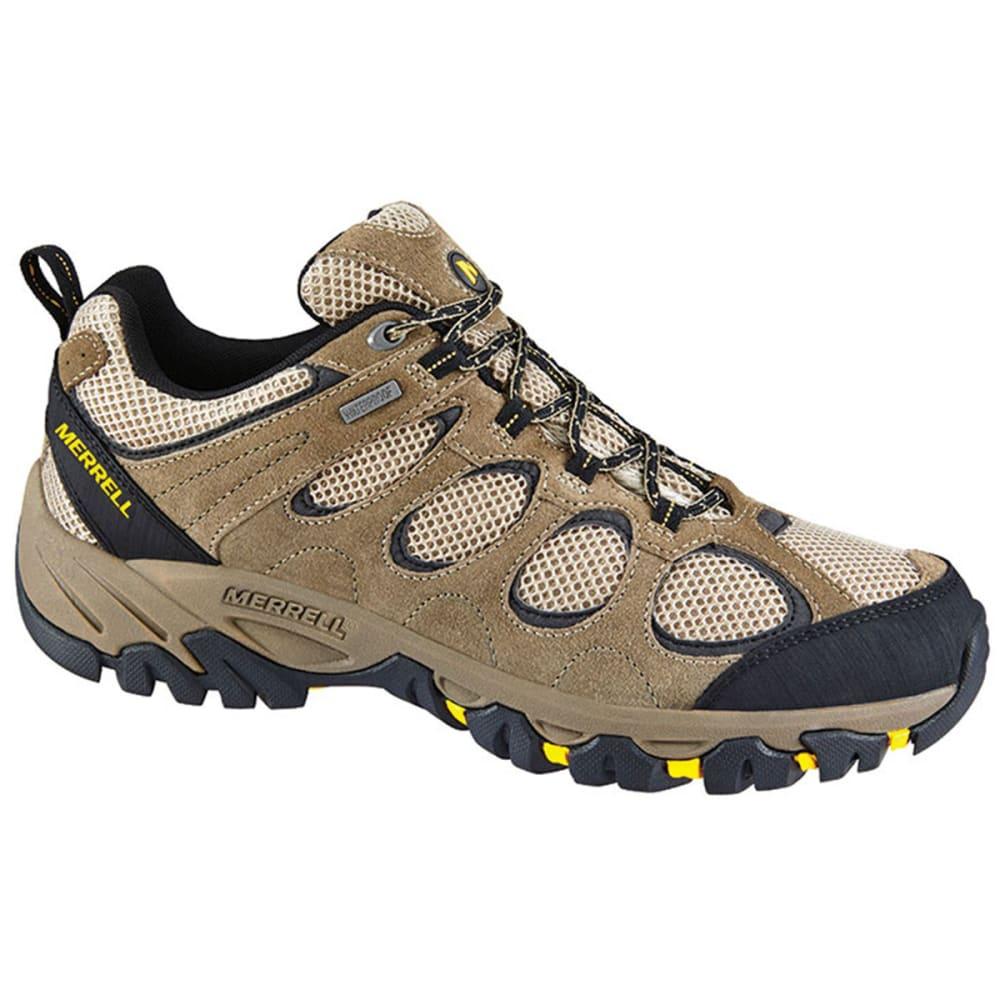 merrell s hilltop ventilator wp hiking shoes brindle