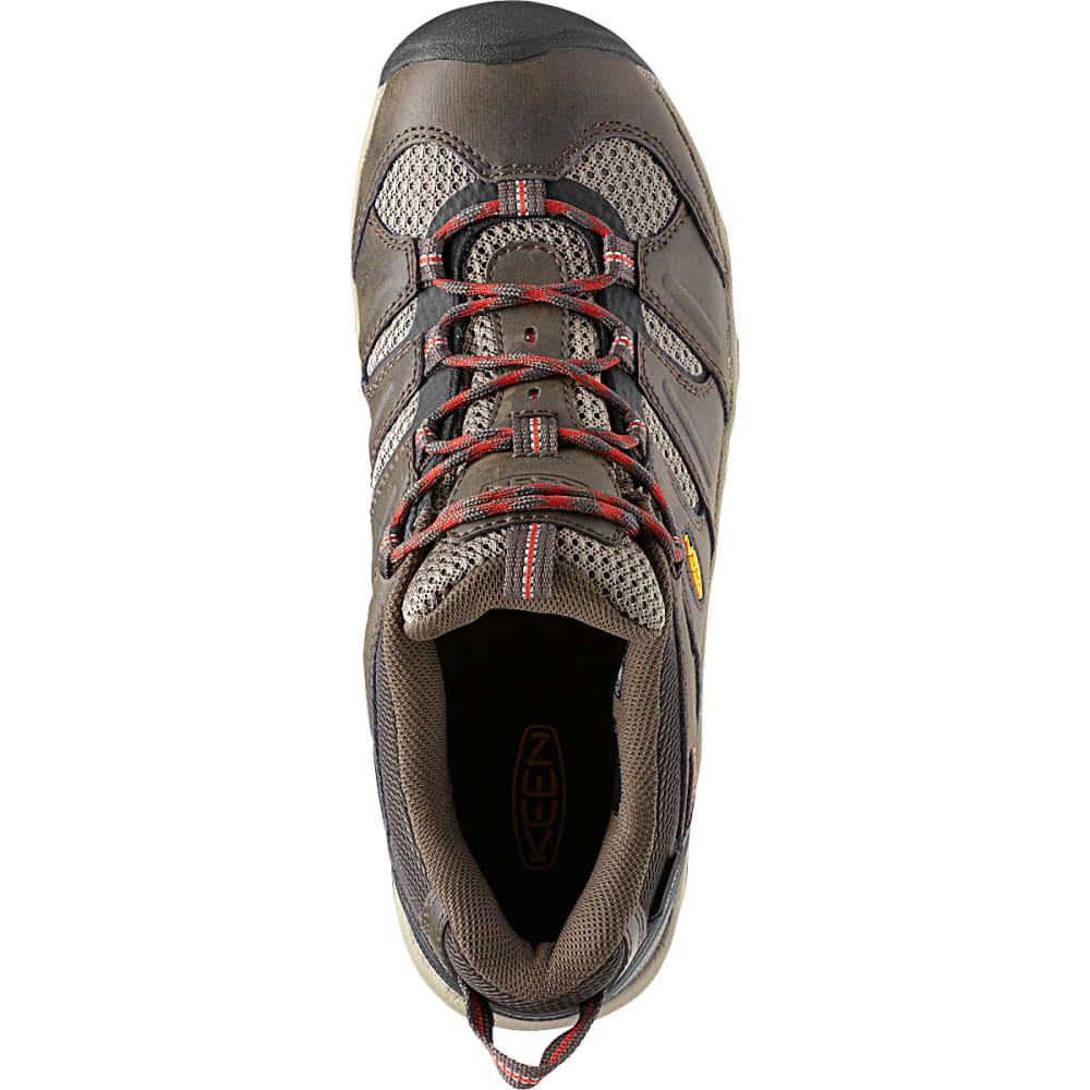 cc94023fde KEEN Men's Koven Waterproof Hiking Shoes, Wide - BLACK OLIVE