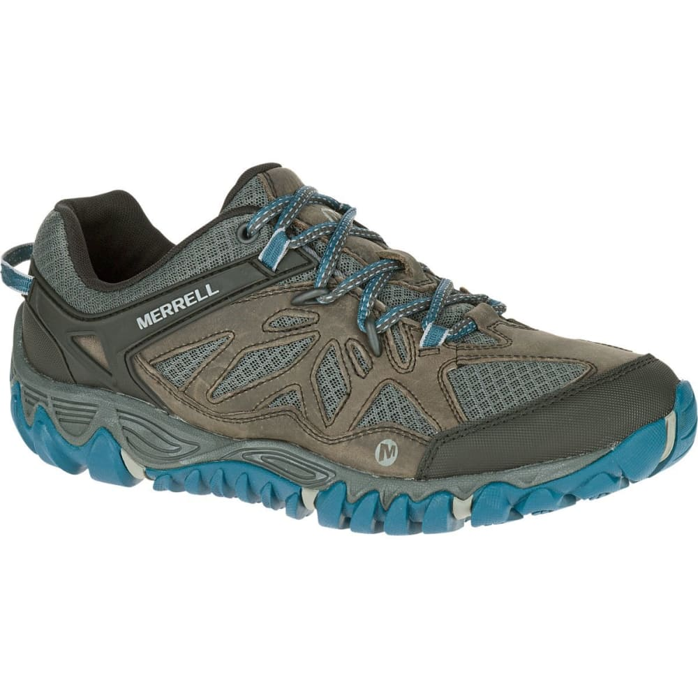 MERRELL Men's All Out Blaze Ventilator Hiking Shoes - METALLIC SILVER