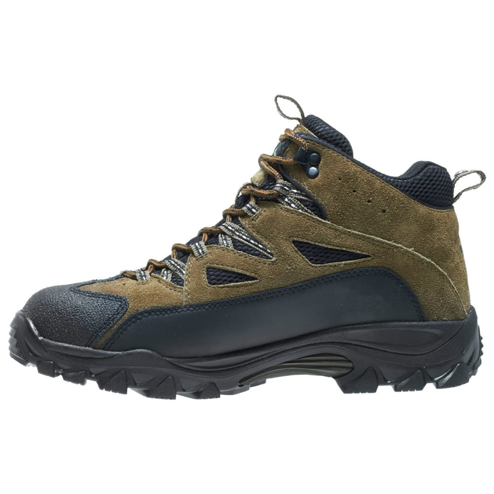 WOLVERINE Men's Fulton Mid Hiking Boots, Wide Width - BROWN