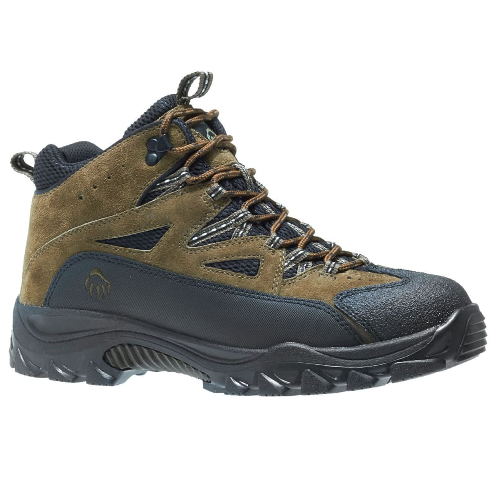 WOLVERINE Men's Fulton Mid Hiking Boots, Wide Width 8
