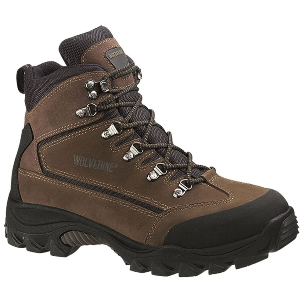 WOLVERINE Men's Spencer Mid Boots, Wide Width - BROWN