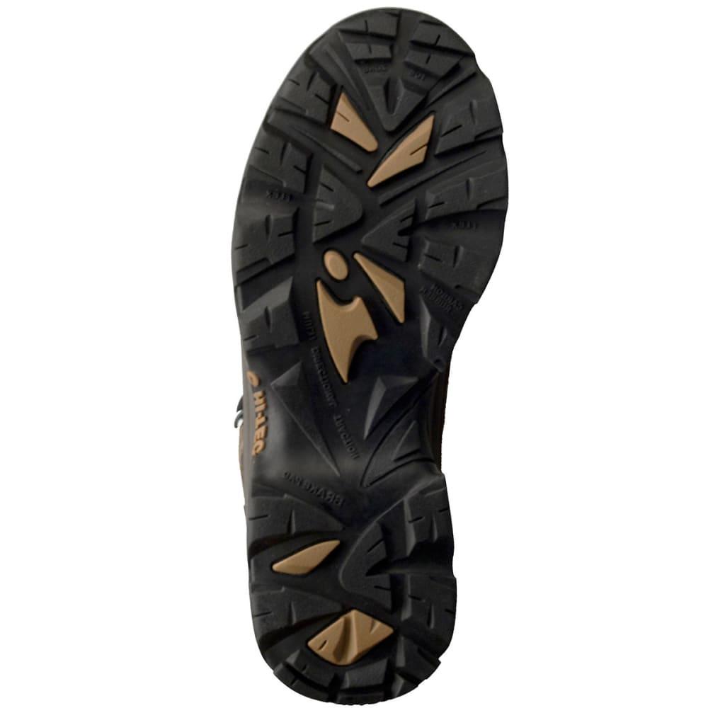 HI-TEC Men's Bandera Mid WP Hiking Boots, Bone/Brown/Mustard - BONE/BROWN/MUSTARD