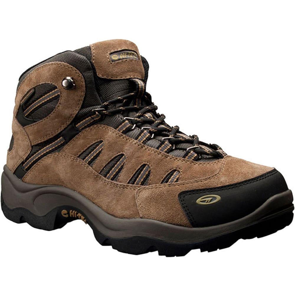 HI-TEC Men's Bandera Mid WP Hiking Boots, Bone/Brown/Mustard 8