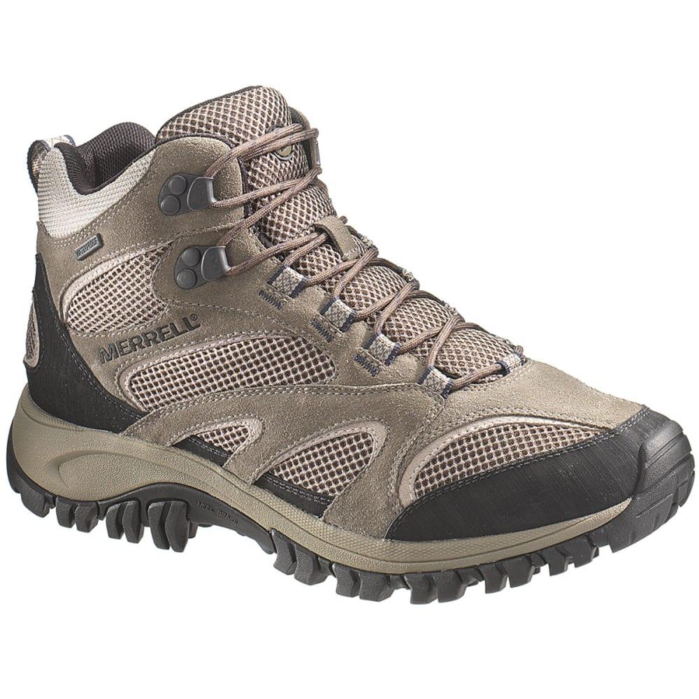 5c4ba569639 MERRELL Men's Phoenix Mid Boulder Hiking Boots, WideWidth