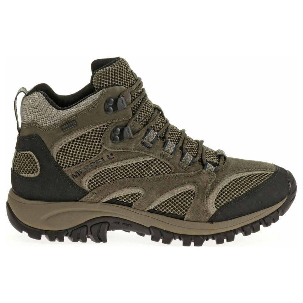 MERRELL Men's Phoenix Mid WP Hiking Boots, Boulder - BOULDER
