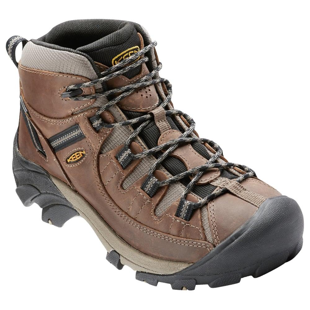 KEEN Men's Targhee Mid Waterproof Hiking Boots 8
