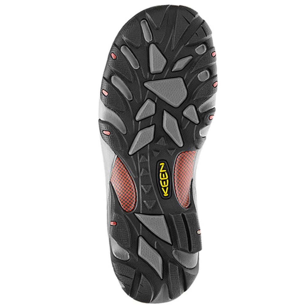 KEEN Men's Targhee II Mid WP Hiking Boots, Chestnut - CHESTNUT