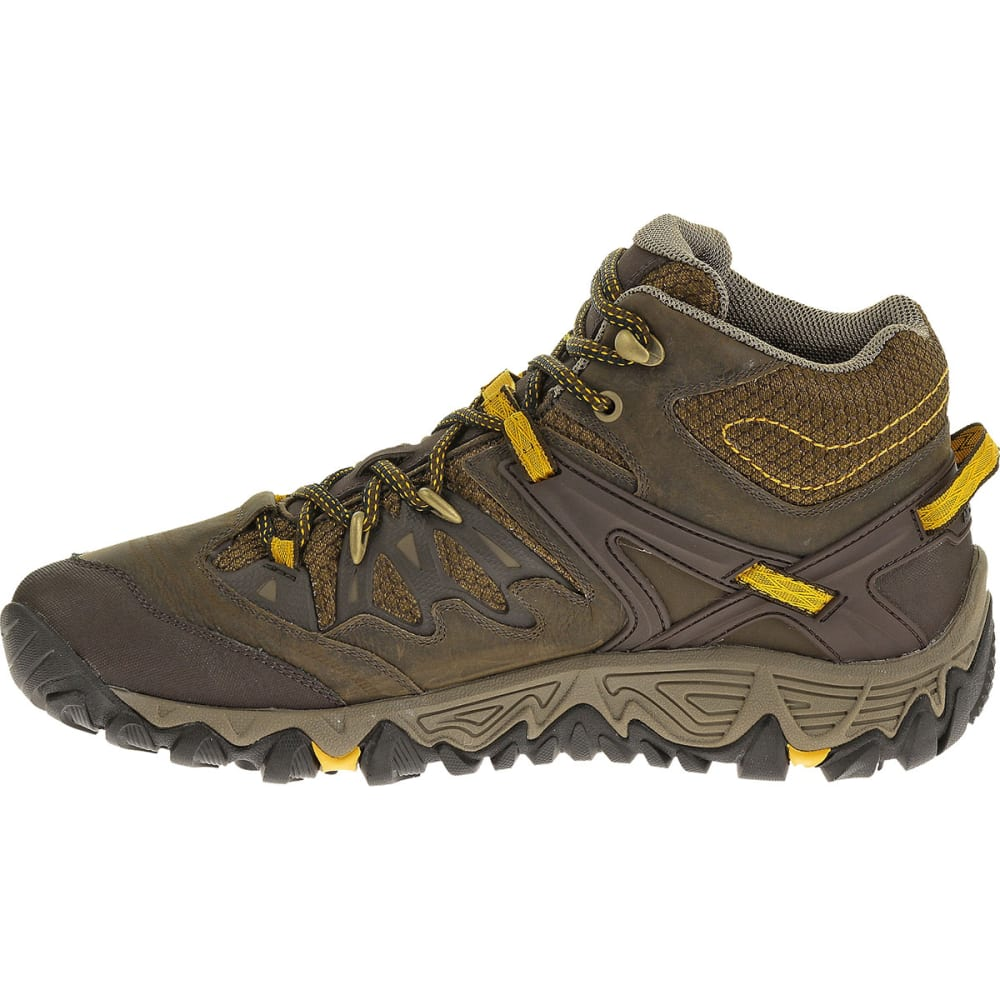 merrell s all out blaze mid wp hiking boots black slate