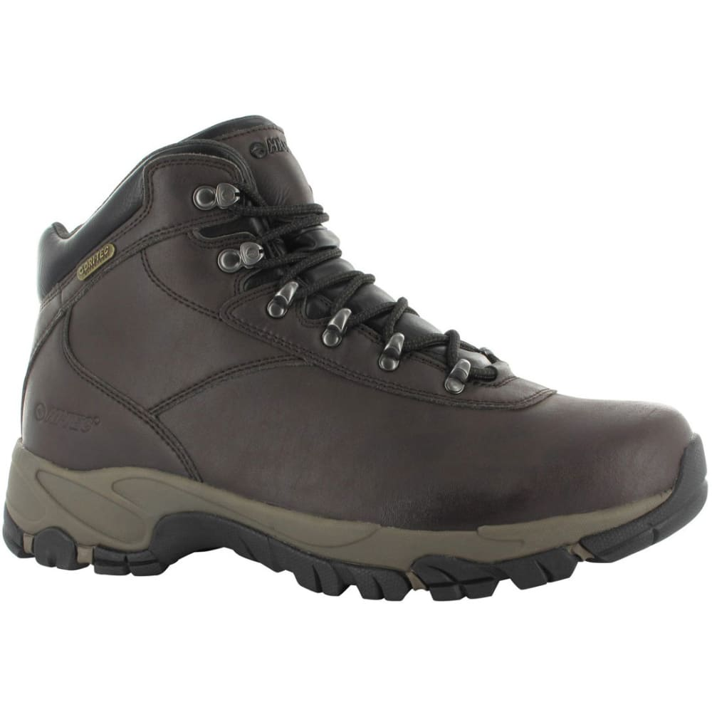Hi TEC Men's Altitude V Waterproof Hiking Boots - DK CHOC/TAUPE/BLK