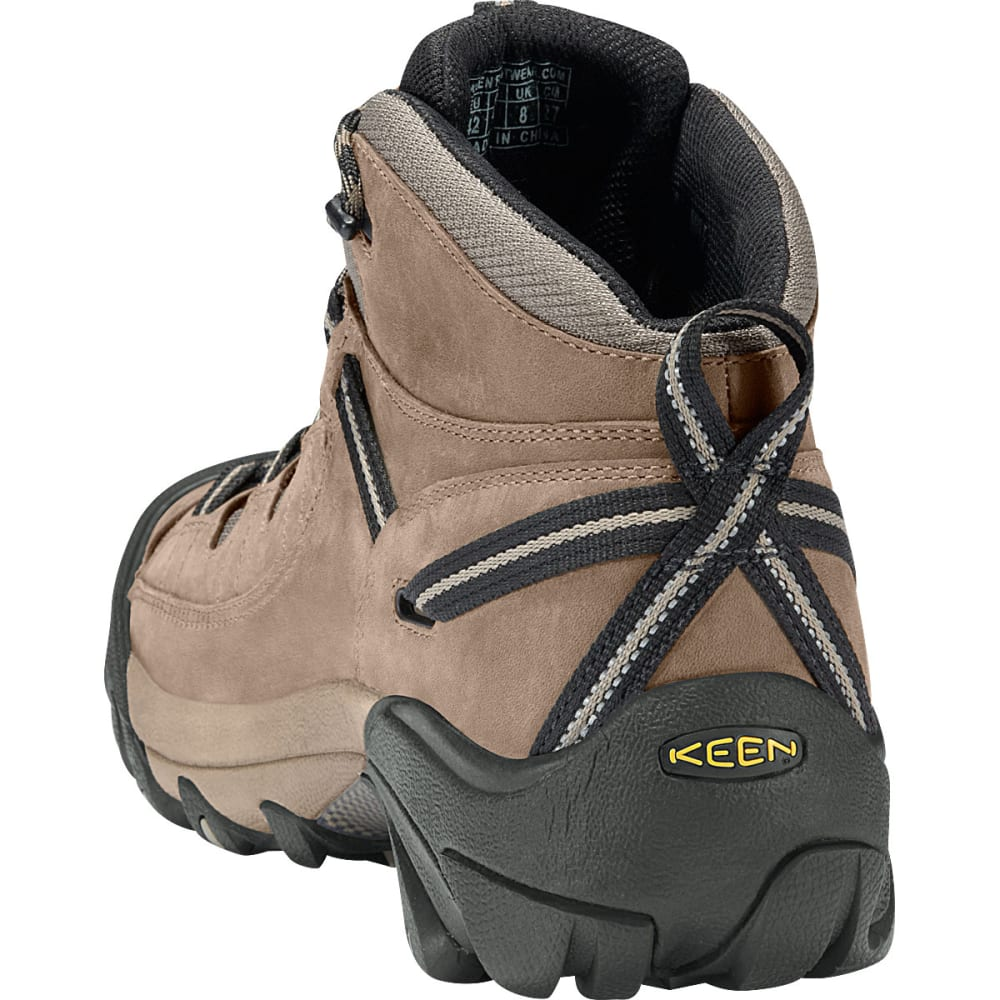 KEEN Men's Targhee II Hiking Boots, Wide - SHITAKE/BROWN