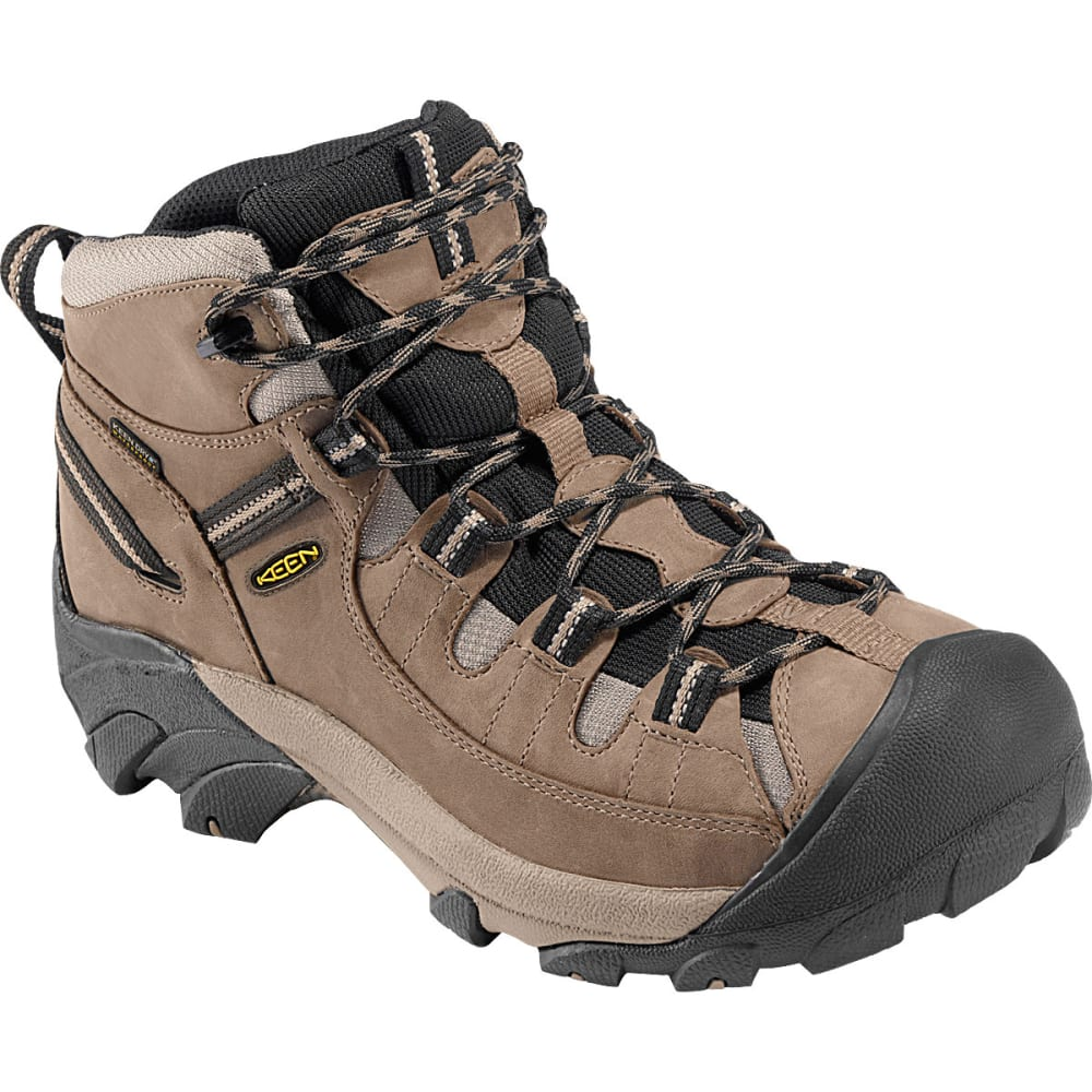 KEEN Men's Targhee II Hiking Boots, Wide - SHITAKE/BROWN