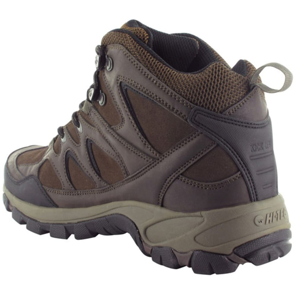 HI-TEC Men's Altitude Trek Mid Waterproof Hiking Boots - CHOCOLATE