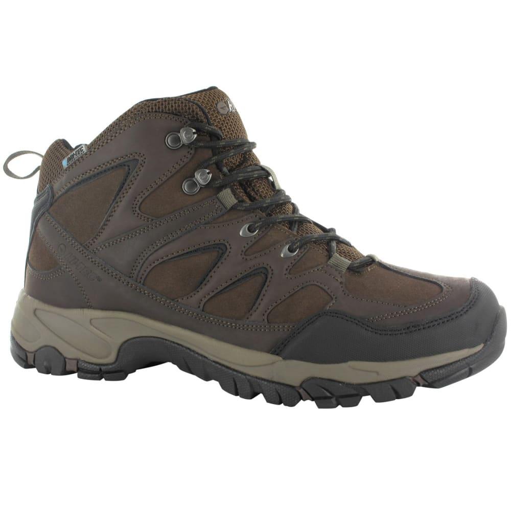 HI-TEC Men's Altitude Trek Mid Waterproof Hiking Boots - CHOCOLATE