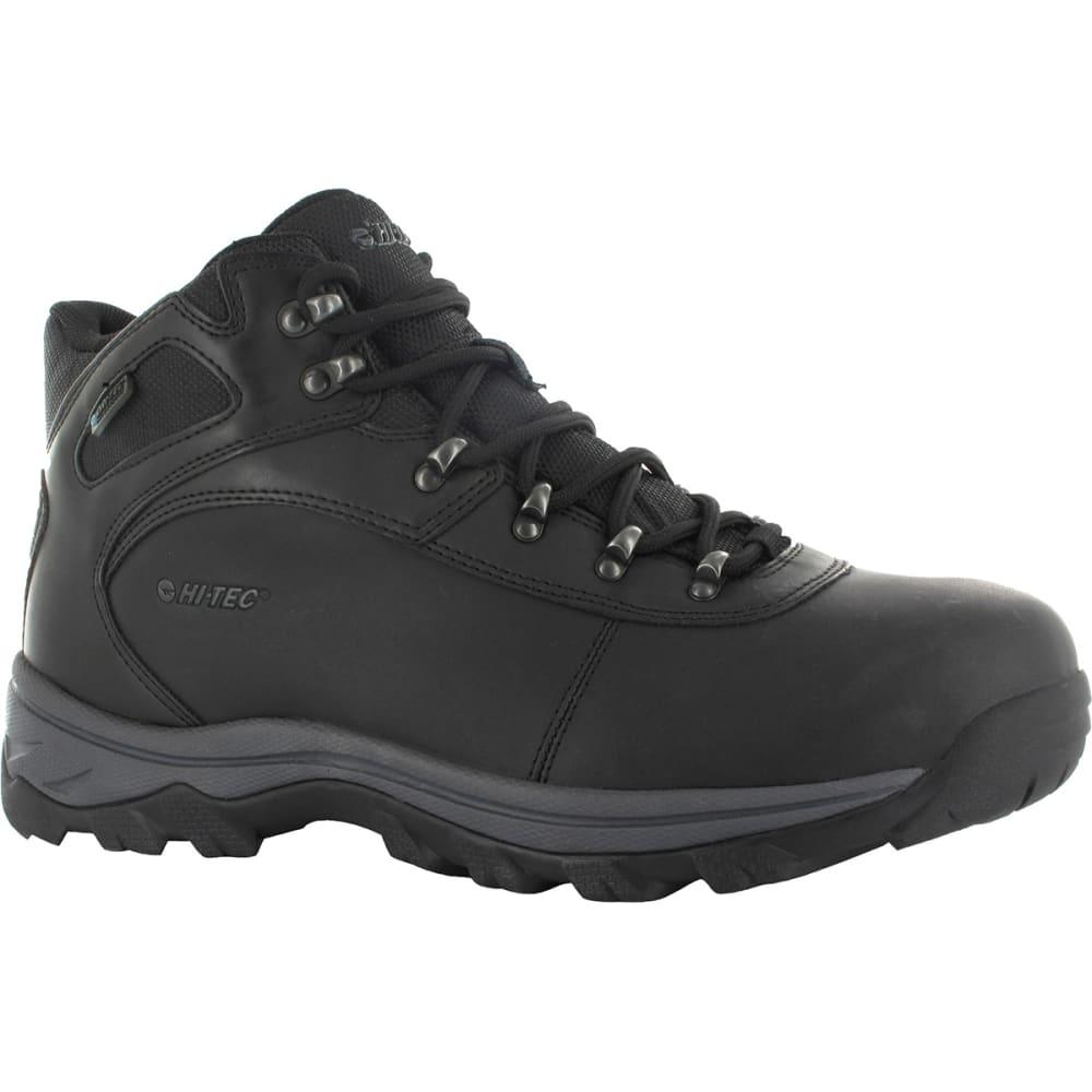 HI TEC Men's Altitude Base Camp WP Hiking Boots - BLACK DISTRESSED