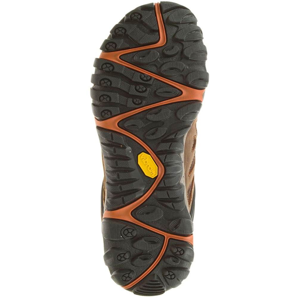 MERRELL Men's All Out Blaze Ventilator Mid Hiking Boots - BROWN/CHEVRON