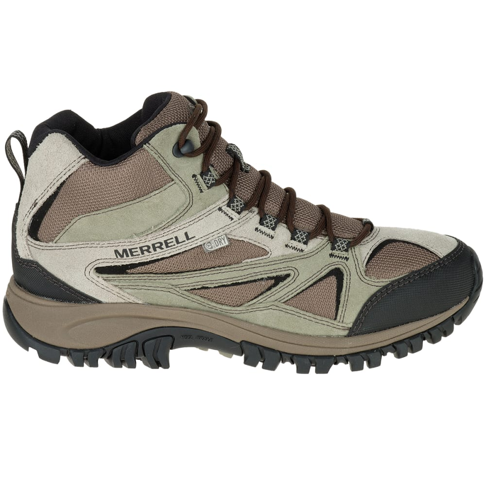 d528204cfaa MERRELL Men's Phoenix Bluff Mid Waterproof Hiking Shoes, Wide