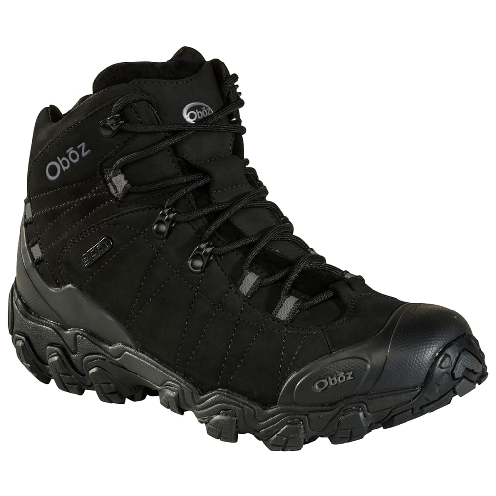 Oboz Men's Bridger Bdry Hiking Boots - Black