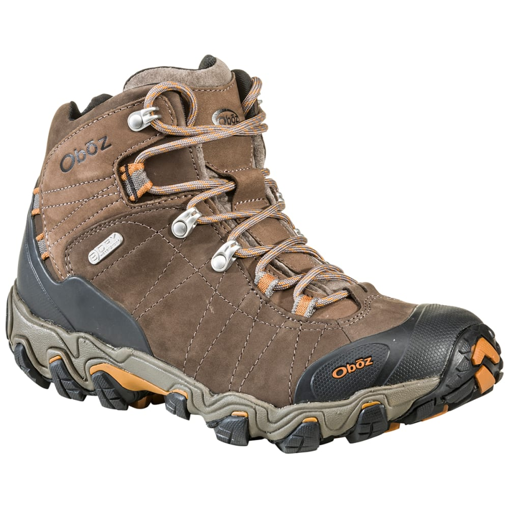 OBOZ Men's Bridger BDry Hiking Boots - BROWN