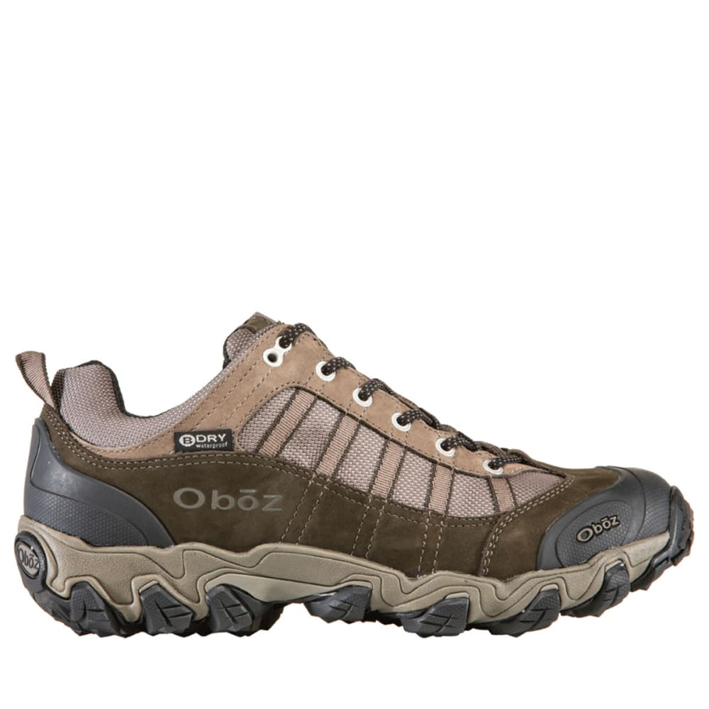 OBOZ Men's Tamarack BDry Hiking Shoes - BROWN