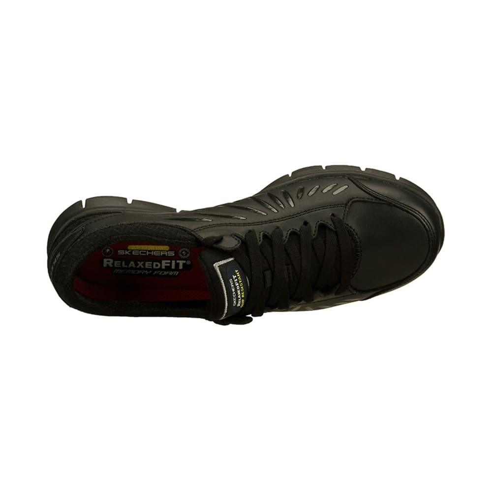 SKECHERS Women's Work Relaxed Fit: Eldred SR - BLACK