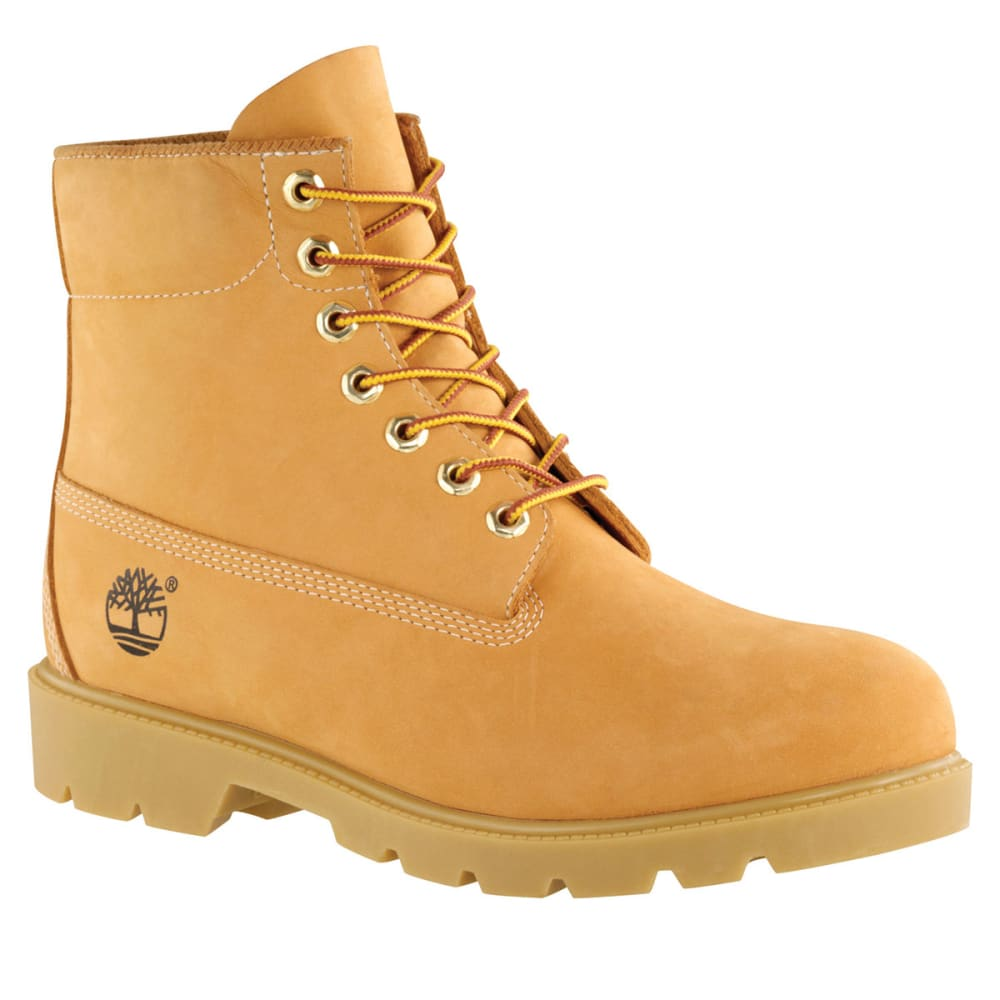 TIMBERLAND Men's Icon 6-Inch Basic Waterproof Boots, Wide - WHEAT713
