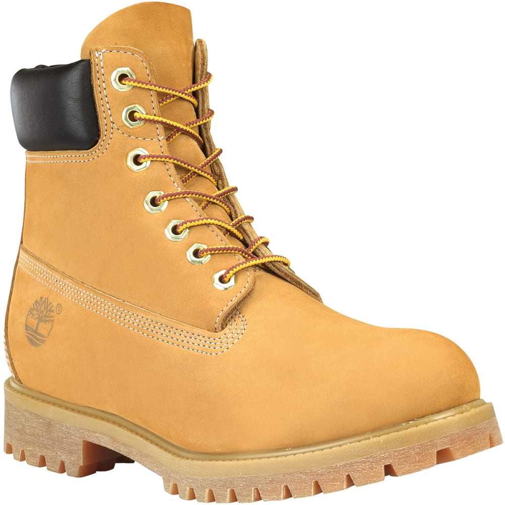 """TIMBERLAND 10061 Men's 6"""" Premium Waterproof Boot, Medium Width - WHEAT713"""
